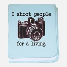 I Shoot People - Infant Blanket