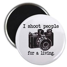 "I Shoot People 2.25"" Magnet (10 pack)"