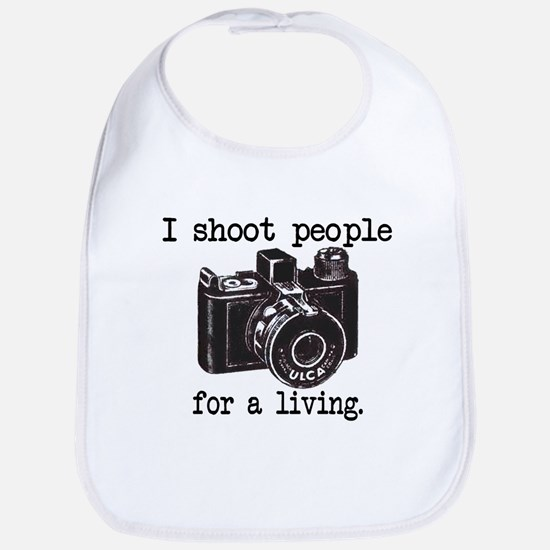 I Shoot People Bib