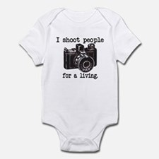 I Shoot People Infant Bodysuit