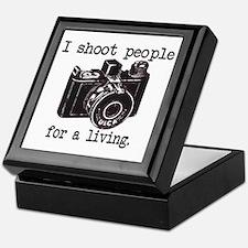 I Shoot People Keepsake Box