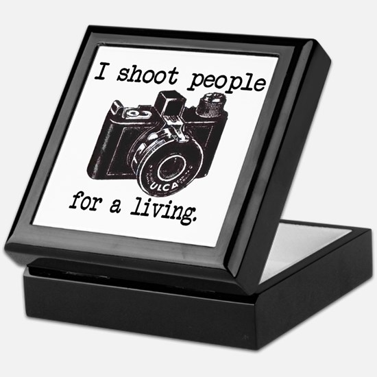 I Shoot People Keepsake Box