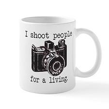 I Shoot People Small Mug