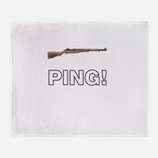 PING! Throw Blanket
