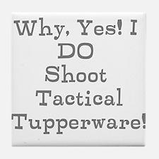 Tactical Tupperware Tile Coaster