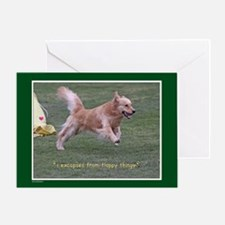 Golden Retriever Birthday Card 2012-12