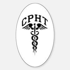 Pharmacy CPhT Sticker (Oval)