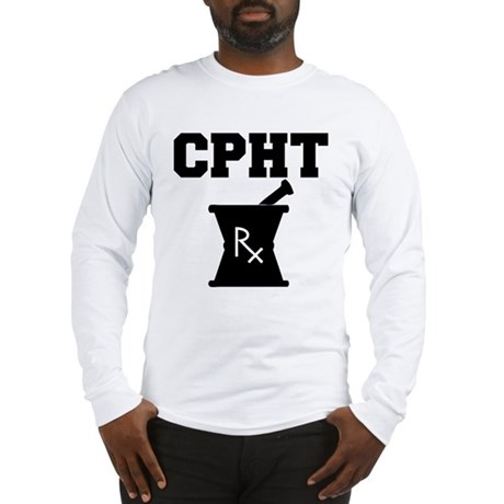Pharmacy CPhT Rx Long Sleeve T-Shirt
