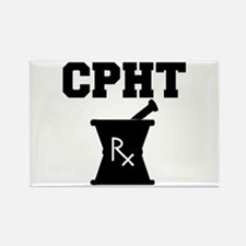 Pharmacy CPhT Rx Rectangle Magnet
