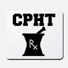 Pharmacy CPhT Rx Mousepad