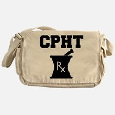 Pharmacy CPhT Rx Messenger Bag