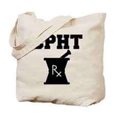 Pharmacy CPhT Rx Tote Bag