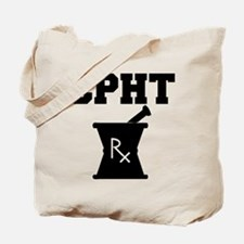Pharmacy CPhT Rx Tote Bag