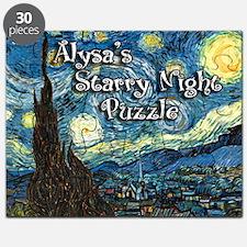Alysa's Starry Night Puzzle