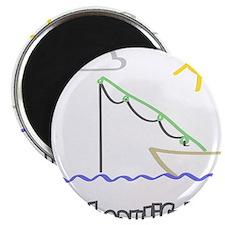 "Its a Beautiful Life - Fishin 2.25"" Magnet (10 pac"