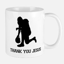 Tebowing - Thank You Jesus Mug