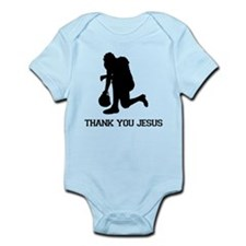 Tebowing - Thank You Jesus Infant Bodysuit