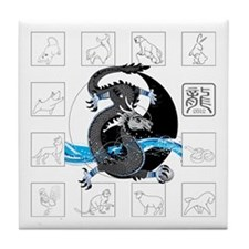 Zodiac 2012 Tile Coaster
