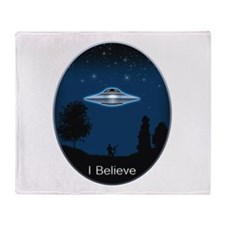 I Believe Throw Blanket