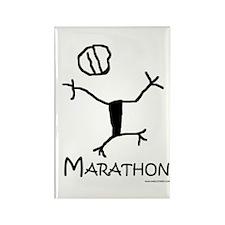 Marathon Rectangle Magnet