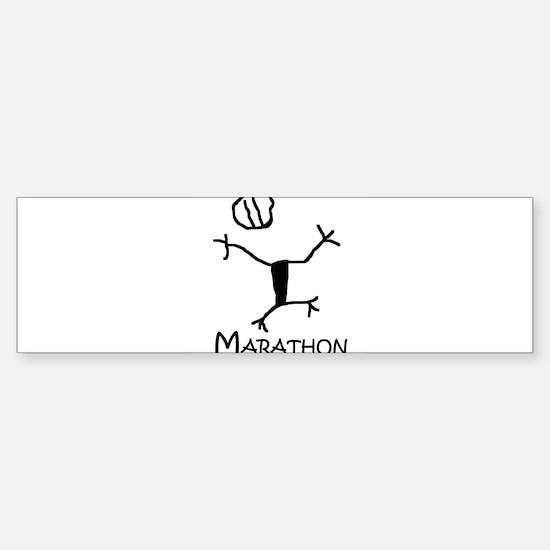 Marathon Bumper Bumper Bumper Sticker