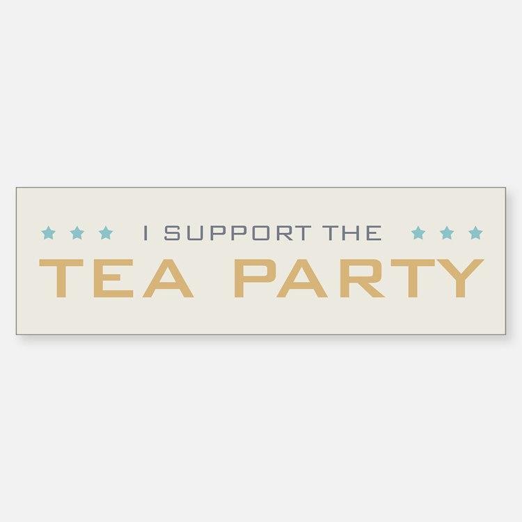 Tea Party Bumper Bumper Sticker
