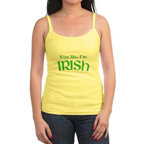 Kiss Me, I'm Irish Jr. Spaghetti Tank