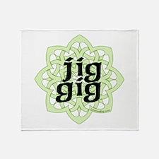 Jig Gig by DanceBay.com Throw Blanket
