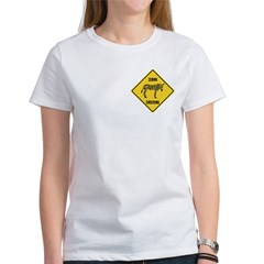 Zebra Crossing Sign Women's T-Shirt