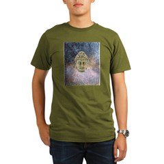 Floating Buddha Organic Men's T-Shirt (dark)