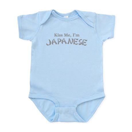 Kiss Me, I'm Japanese Infant Bodysuit