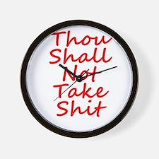 Thou shall not, Wall Clock