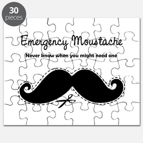 Emercency Moustache Puzzle