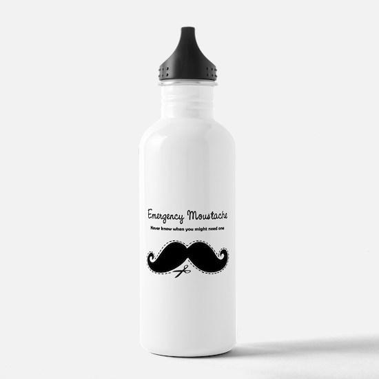 Emercency Moustache Water Bottle
