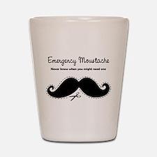 Emercency Moustache Shot Glass