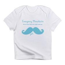 Emercency Moustache Infant T-Shirt