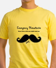 Emercency Moustache T
