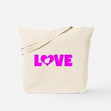LOVE LOP RABBIT Tote Bag