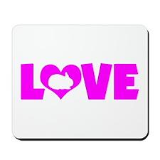 LOVE RABBIT Mousepad
