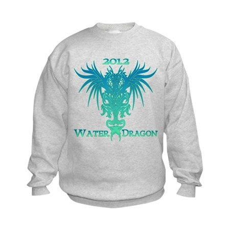 Chinese Water Dragon 2012 Kids Sweatshirt
