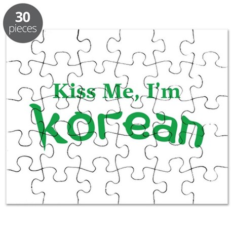 Kiss Me, I'm Korean Puzzle