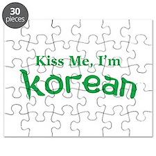 Kiss Me, I'm Korean Puzzle