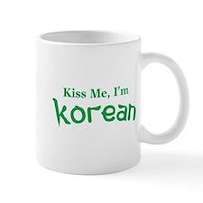 Kiss Me, I'm Korean Mug