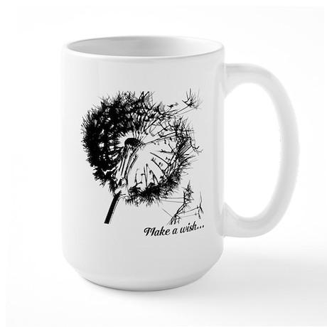 Make a Wish on Large Mug