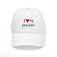 I LOVE MY Poochon Baseball Cap