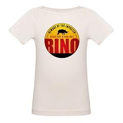 Beware of The Imposter Organic Baby T-Shirt
