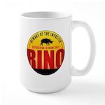 Beware of The Imposter Large Mug