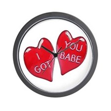 I Got You Babe Wall Clock