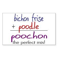 Poochon PERFECT MIX Decal