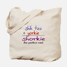 Shorkie PERFECT MIX Tote Bag